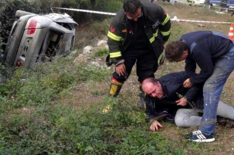 Ehliyetsiz lise öğrencisi kaza yaptı: 1 ölü, 5 yaralı