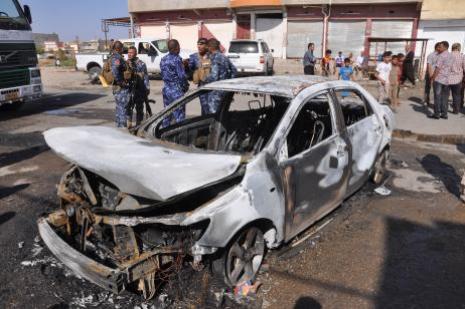 Kerkükte patlama: 2 ölü