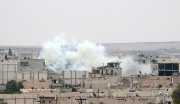Çatışmalar Kobaninin iç bölgelerinde yoğunlaştı