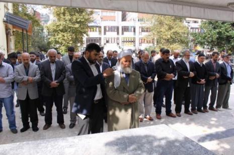 Kobani eylemleri protesto edildi
