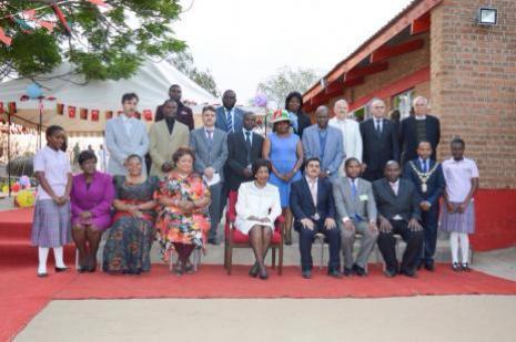 Malavi First Ladysi Türk okulunu açtı