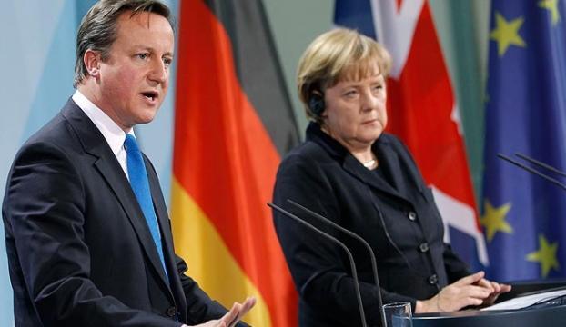 Merkel, İngiltereyi gözden çıkardı