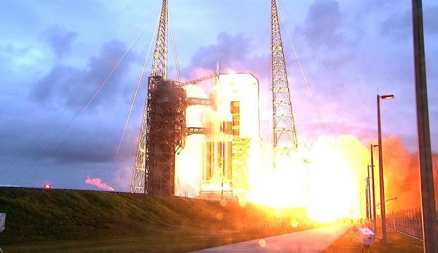 Orion uzay kapsülü fırlatıldı