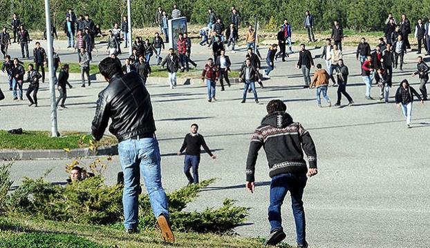 KSÜde çıkan olaylarda 55 kişi gözaltına alındı