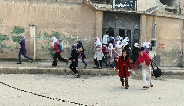 Şamda okula havan topu saldırısı: 12 ölü