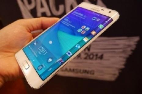 Samsung, Galaxy S6 Edgei hazırlıyor