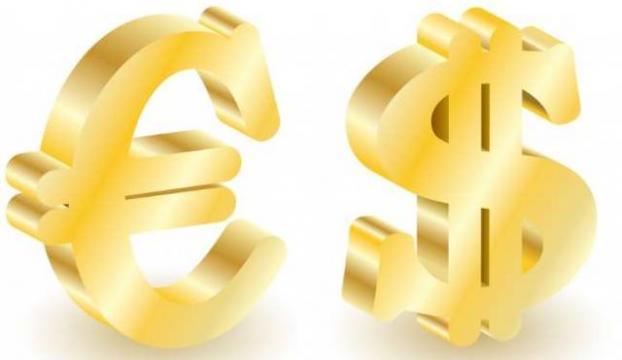 Dolar güne 2,2343 TL, Euro 2,8345 TLden başladı