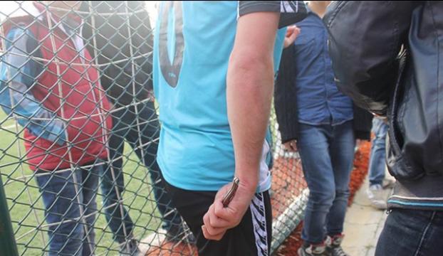 Sakaryada amatör futbol maçında arbede