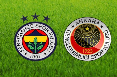 Fenerbahçe ile Gençlerbirliği 83. kez karşı karşıya