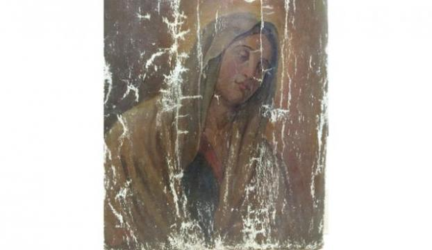 Tarihi Meryem Ana tablosu ele geçirildi