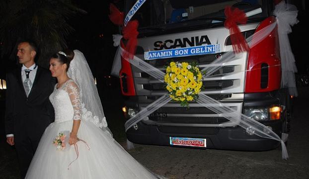 Düğün konvoyu yapan tırlara ceza