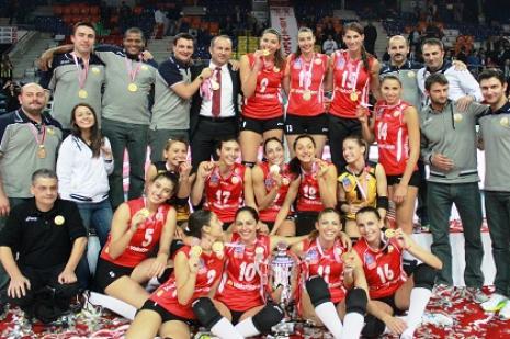 Voleybol Spor Toto Şampiyonlar Kupası Vakıfbank'ın oldu