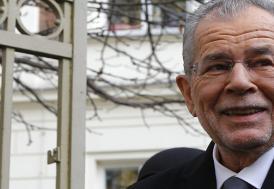 Avusturya'ya göçmen Cumhurbaşkanı