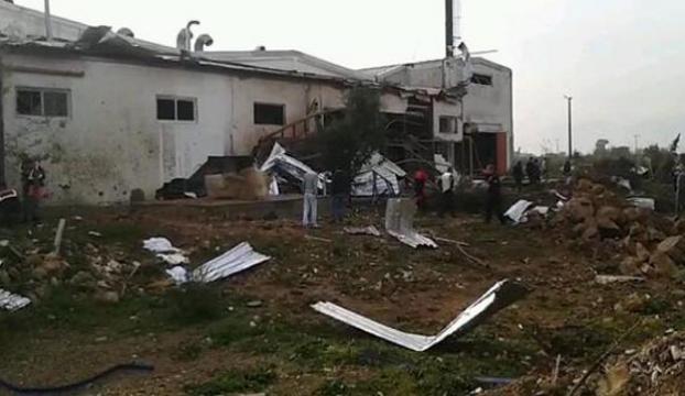 Antalyada fabrikada kazan patladı