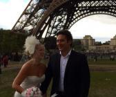 Paris'te nikah Boğaz'da düğün