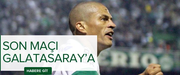 Alex'in son maçı Galatasaray'a karşı!