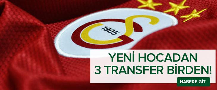 Hamza Hamzaoğlu üç ismi Galatasaray'a getiriyor!