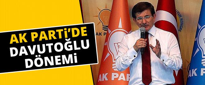 Yeni Ak Parti Başkanı Davutoğlu