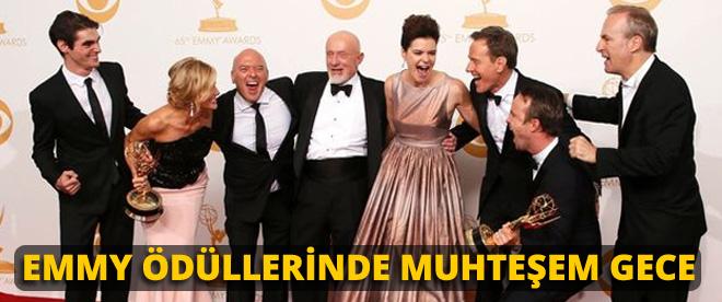 Emmy Ödüllerinde muhteşem gece
