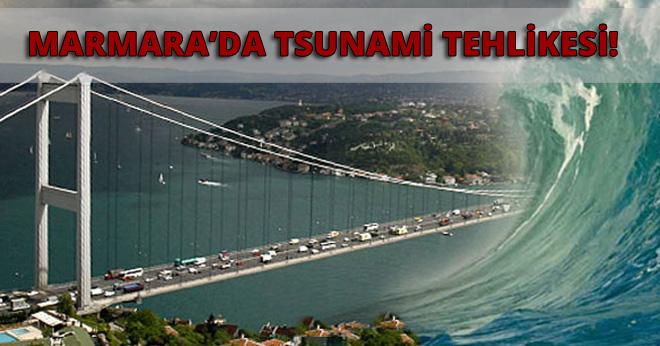 Marmara'da Tsunami Tehlikesi