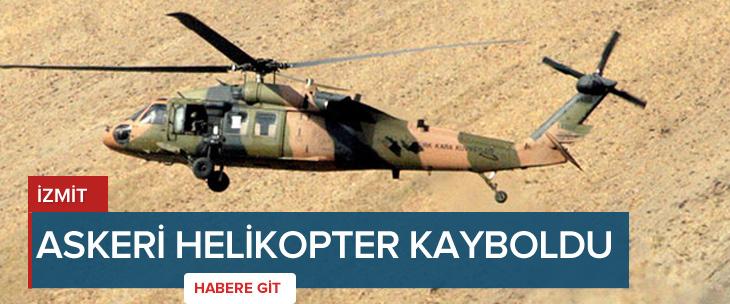 Skorsky helikopter radarlardan kayboldu